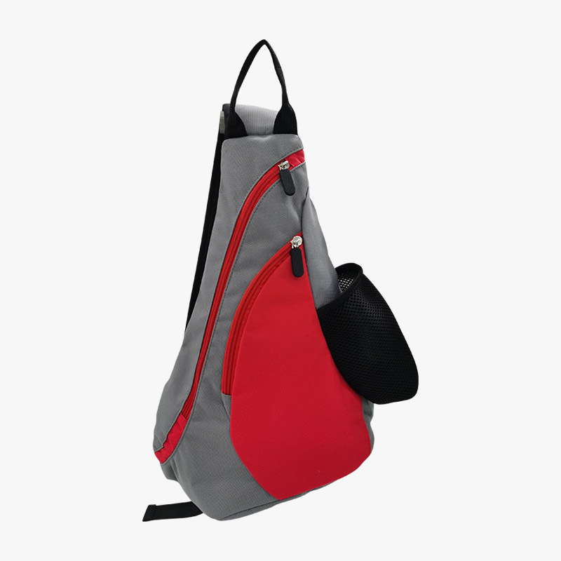 High quality single strap men's sport polyester backpack