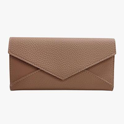 Holder patchwork women long wallet Lady short coin purse