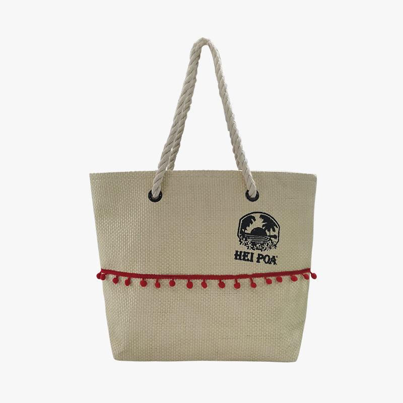 Environmental shopping bag; Ladies shoulder bag; Cotton rope handbag