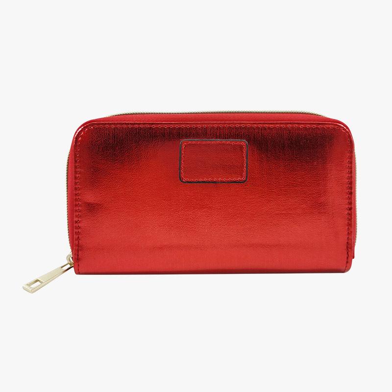 Multifunction large capacity zipper long wallet