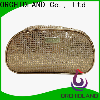 ORCHIDLAND High-quality custom makeup bags wholesale for travelling