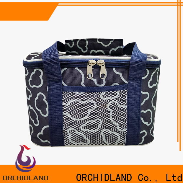 ORCHIDLAND custom lunch cooler wholesale for holiday outings
