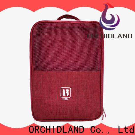 ORCHIDLAND Custom made shoe bag for business trip