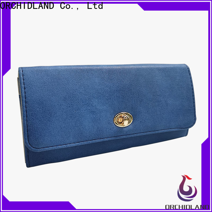 ORCHIDLAND High-quality wallet manufacturer for sale for carrying money