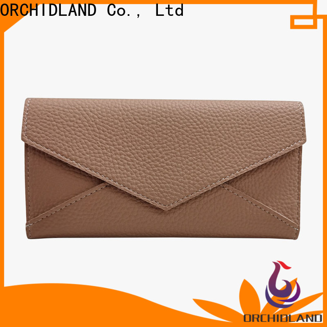 ORCHIDLAND Customized custom made wallets suppliers for carrying money