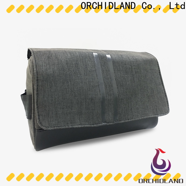 ORCHIDLAND cosmetics bag factory price for toothbrush carrying