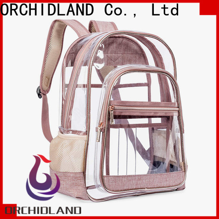 ORCHIDLAND waterproof backpack suppliers for school