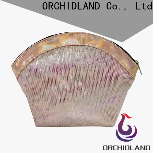 ORCHIDLAND custom made handbags factory for cosmetics carrying