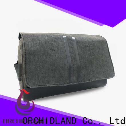 Customized toiletry bag bulk vendor for carrying towel