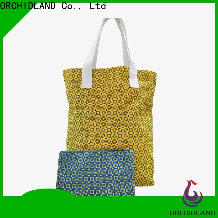 ORCHIDLAND High-quality custom shopping bags manufacturers for shops