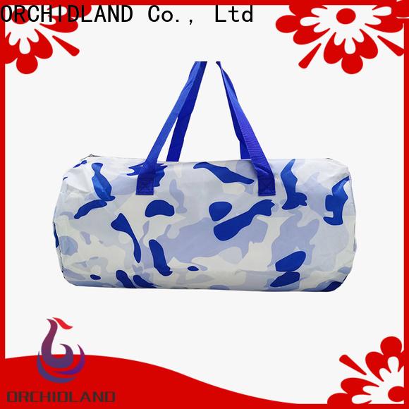 ORCHIDLAND custom travel bag wholesale for travelling