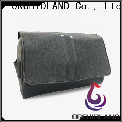 Orchidland Bags Custom cosmetics bag factory price for toothbrush carrying