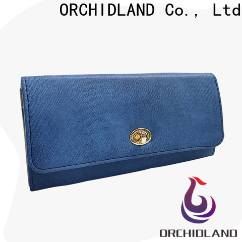 Orchidland Bags custom wallet wholesale for carrying cards