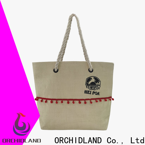 Orchidland Bags Customized handbag suppliers vendor for cosmetics carrying