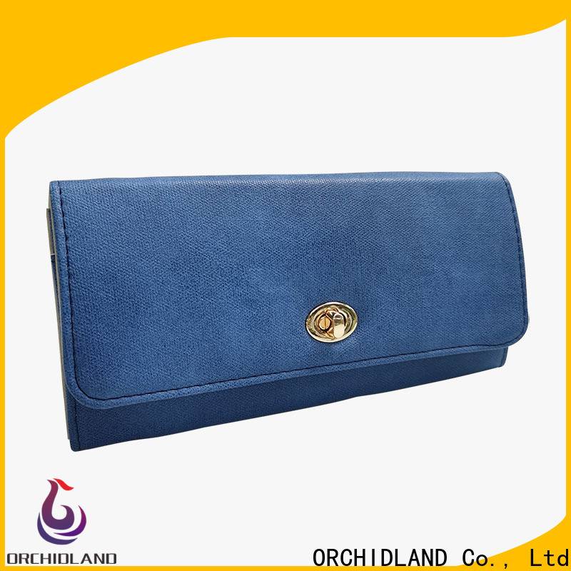 Orchidland Bags custom wallet company for carrying money
