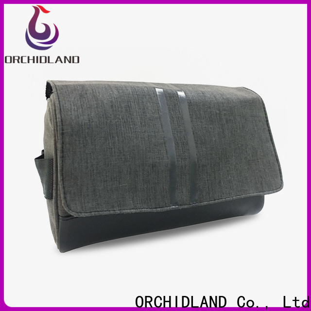 New custom makeup bags wholesale vendor for carrying toothpaste