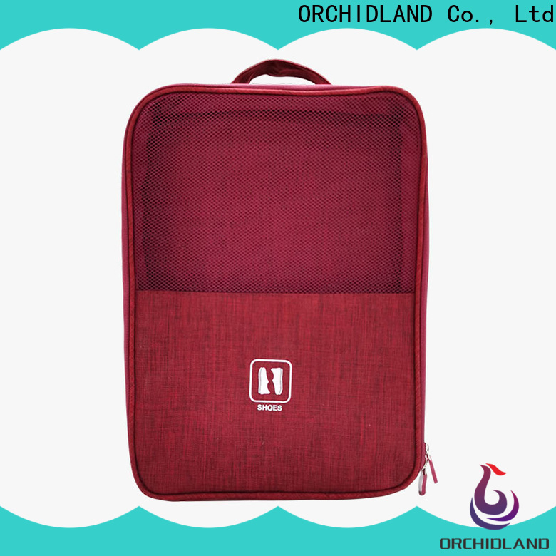 Customized shoe bag for long-distance travel