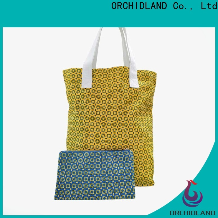 Orchidland Bags Custom shopping bag supplier price for stores
