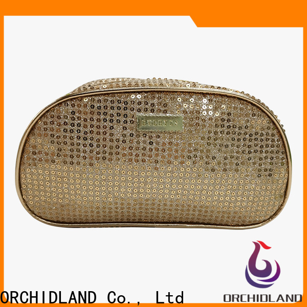 Orchidland Bags Custom made clear toiletry bag for carrying towel