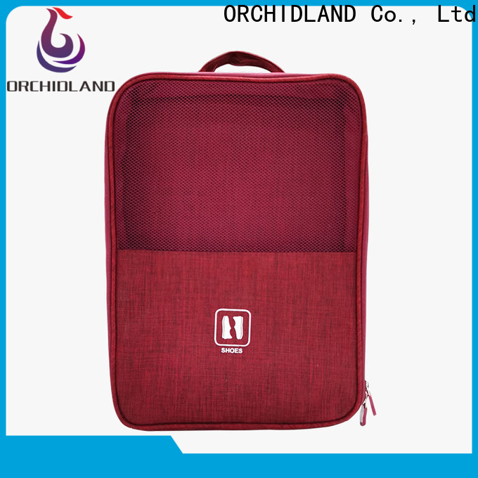 Orchidland Bags fabric shoe bags factory for long-distance travel
