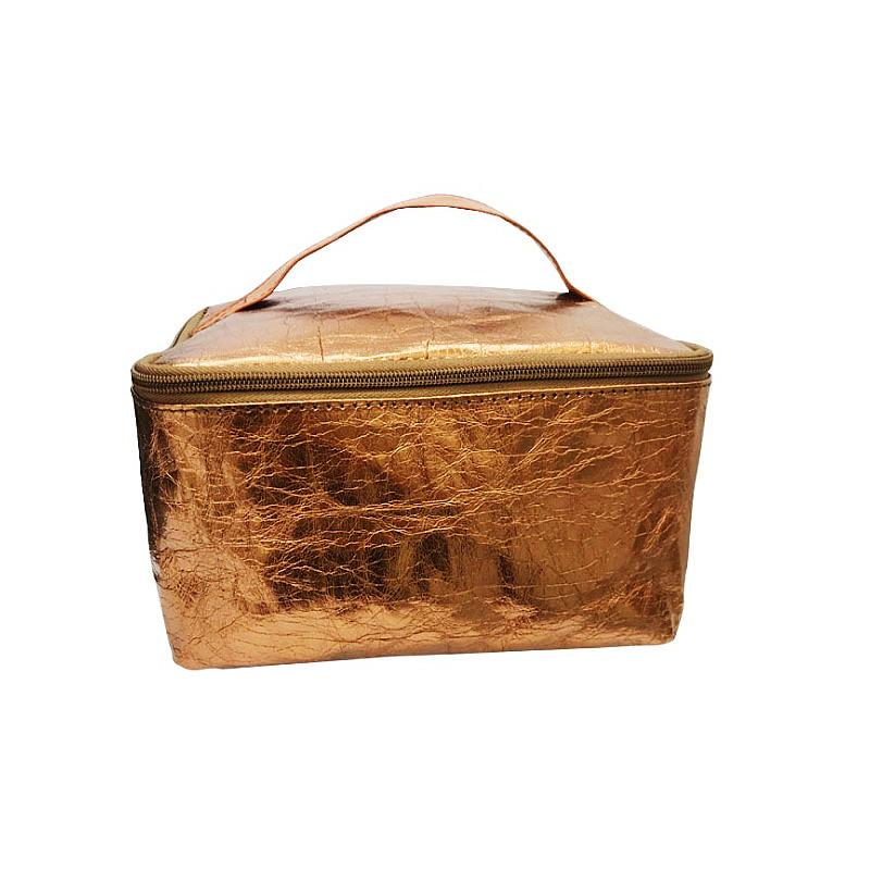 Washable kraft paper cosmetic bag environmental protection storage box Portable Travel Wash Bag