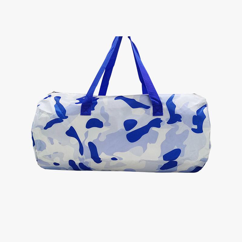 Fashion high capacity camouflage gym bag