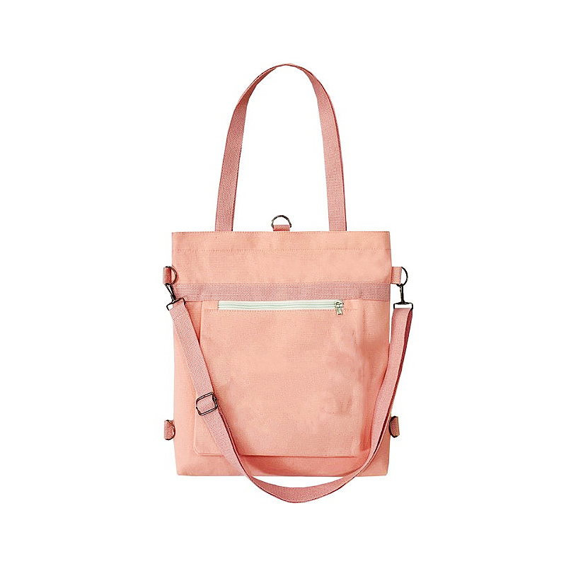 Multi purpose single shoulder canvas bag
