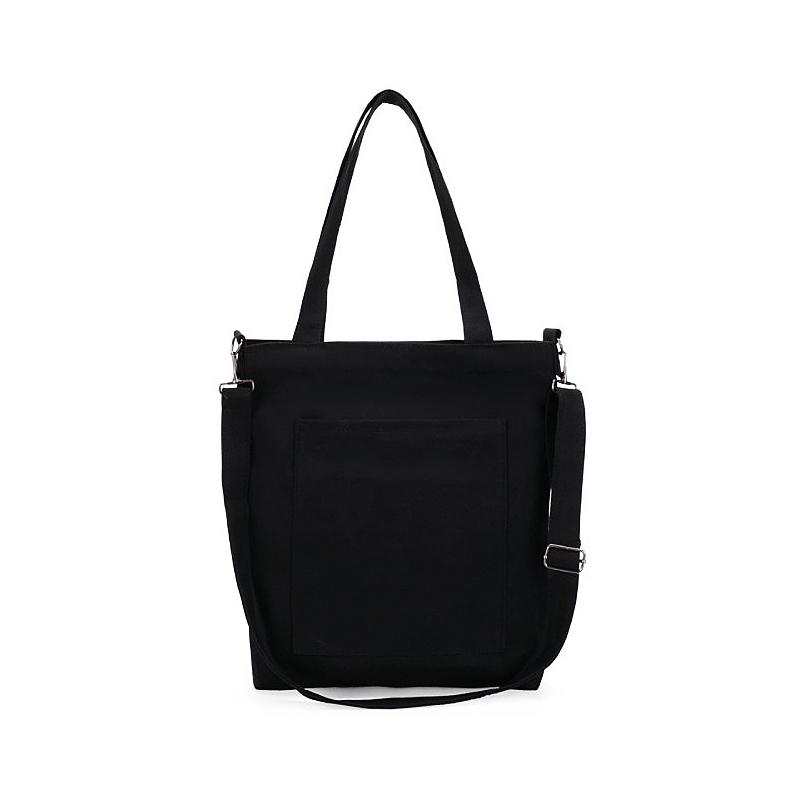 Single Shoulder Bag Canvas Backpack college style fashion canvas bag