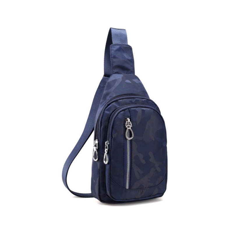Nylon waterproof camouflage casual chest bag fashion package