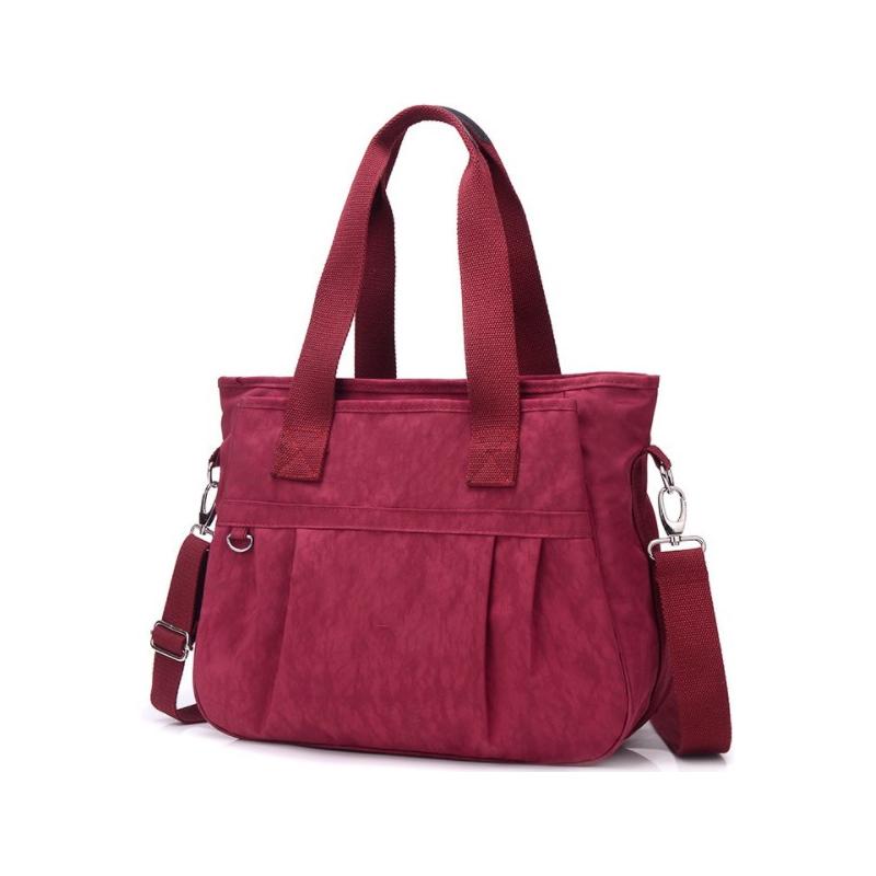 Nylon waterproof women's shoulder bag leisure portable large capacity women's bag mother's bag