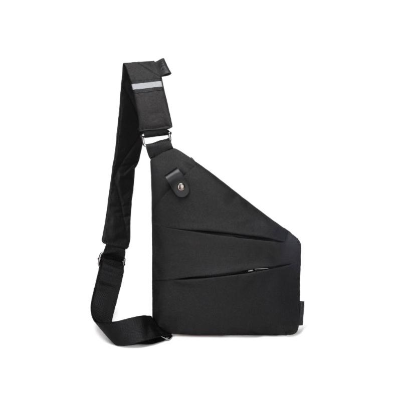 Fashion leisure gun bag, Crossbody Bag, simple chest bag, trend fitting Oxford cloth chest bag