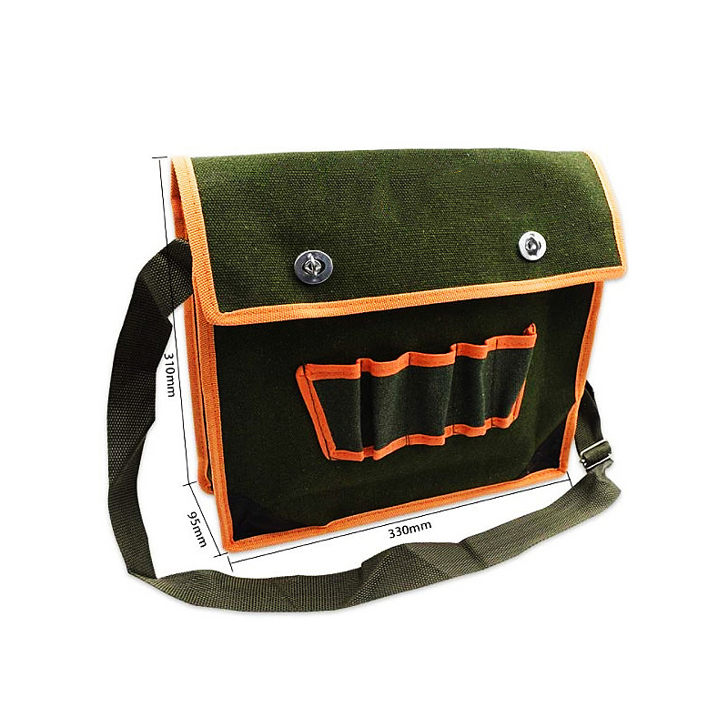 Kit canvas multi-function one shoulder thickening maintenance tool bag