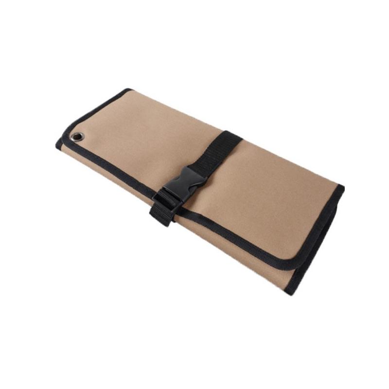 Reel type kit canvas hanging bag convenient maintenance tool bag