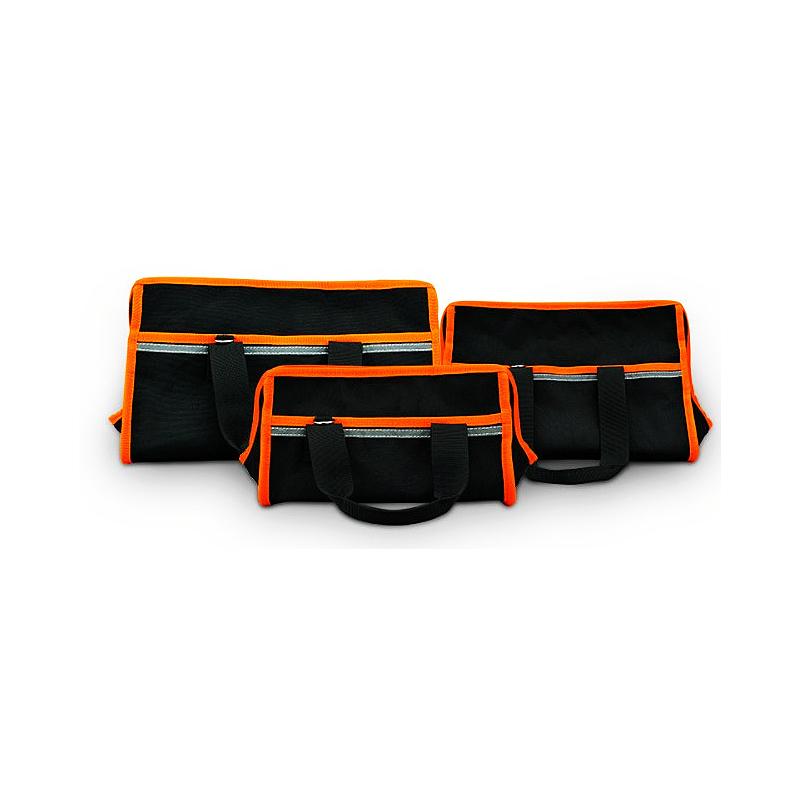Kit multi-function zipper tool bag hardware maintenance electrician bag