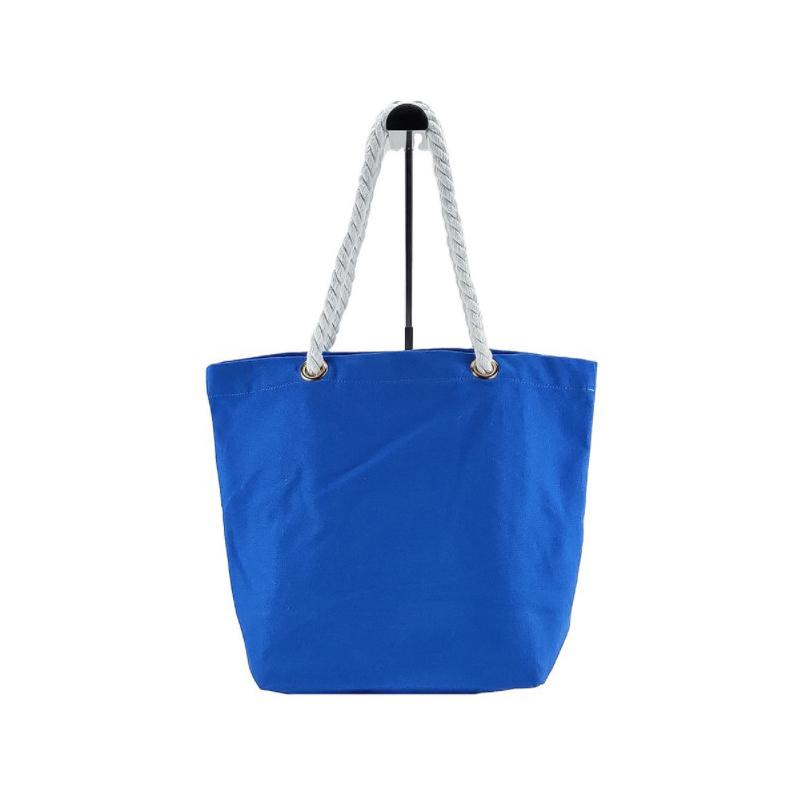 Bunched Mouth Cotton Single Shoulder Bag