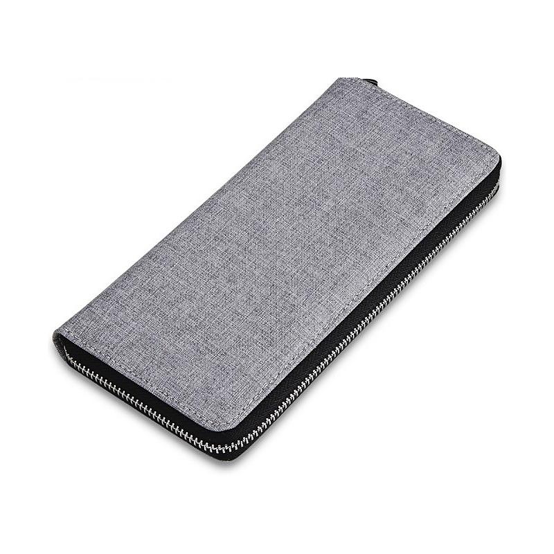 Men's Long Zipper Leisure Wallet