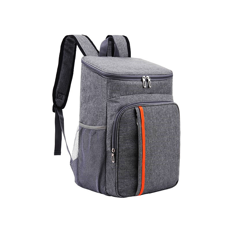 Picnic backpack double shoulder heat preservation bag outdoor ice bag thickened heat preservation backpack waterproof