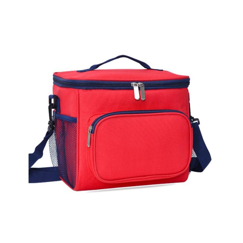 Portable one shoulder Bento bag outdoor picnic bag thermal insulation bag