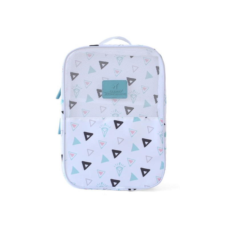 Travel shoe bag shoe storage bag double layer portable sorting bag portable shoe storage bag outdoor waterproof shoe bag