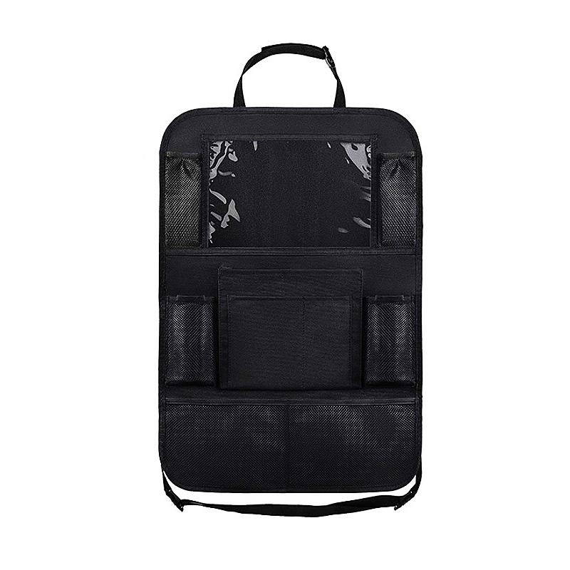 Car rear seat storage bag seat back storage bag multi function storage bag