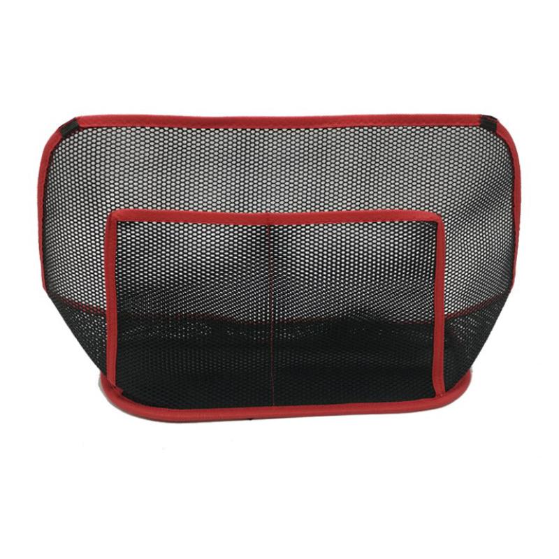 Car seat storage bag hanging bag middle storage bag net back net pocket multi function storage bag