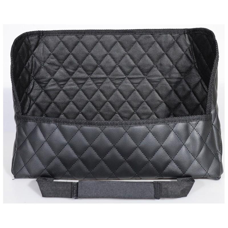 Car supplies seat compartment storage net bag seat back folding storage hanging bag car storage bag