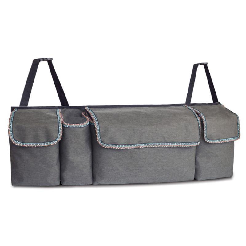 Rear trunk storage bag
