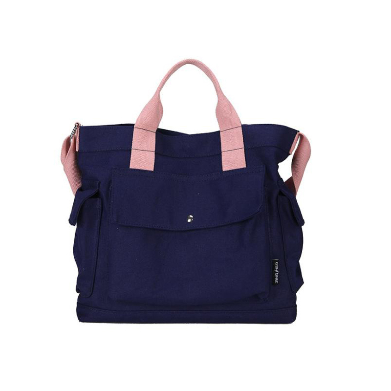 New canvas bag student handbag shopping bag